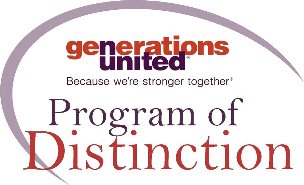 Graphic: Generations United Program of Distinction badge