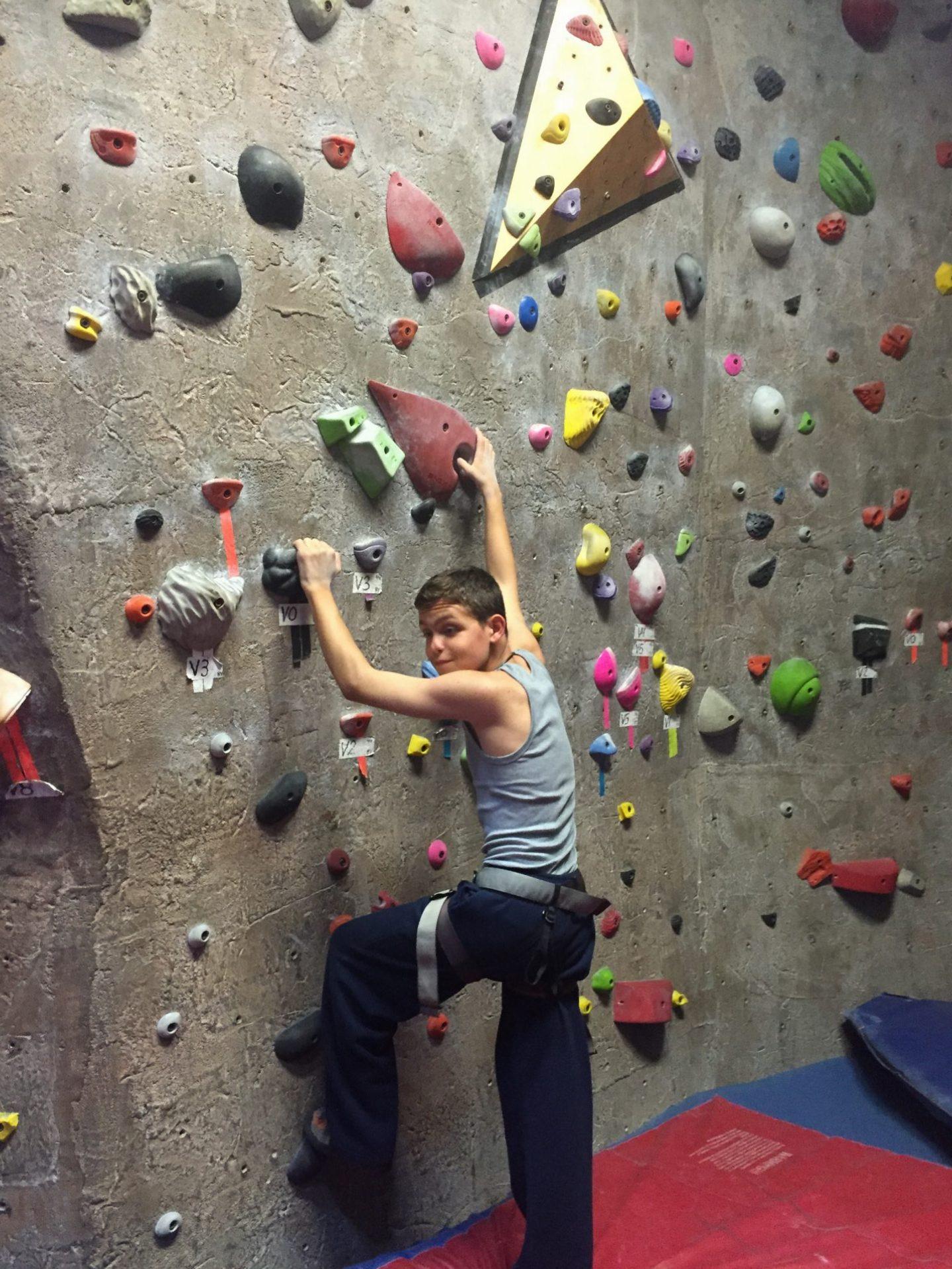 Pre College - Rock Climbing