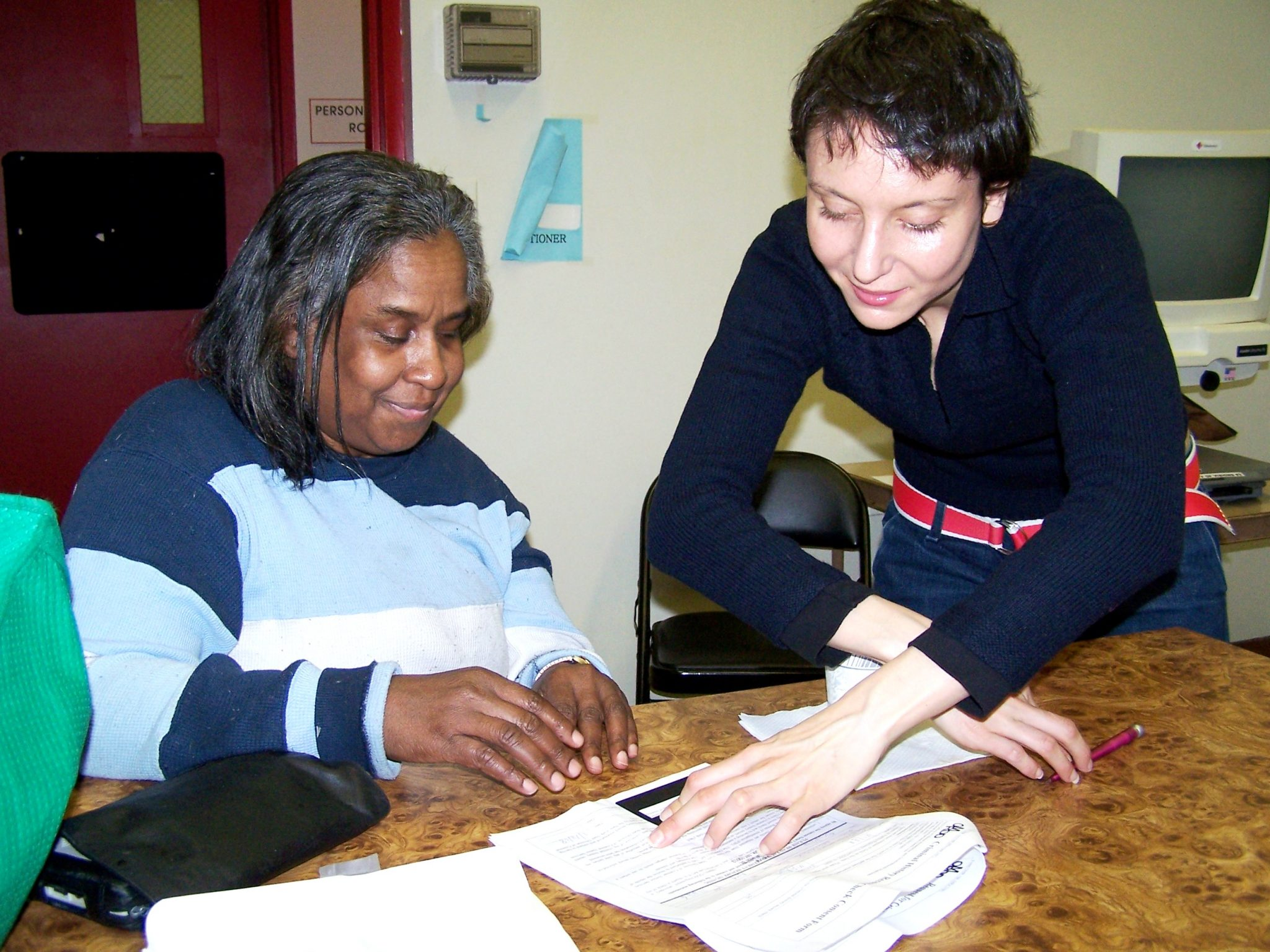 braille reading assistance