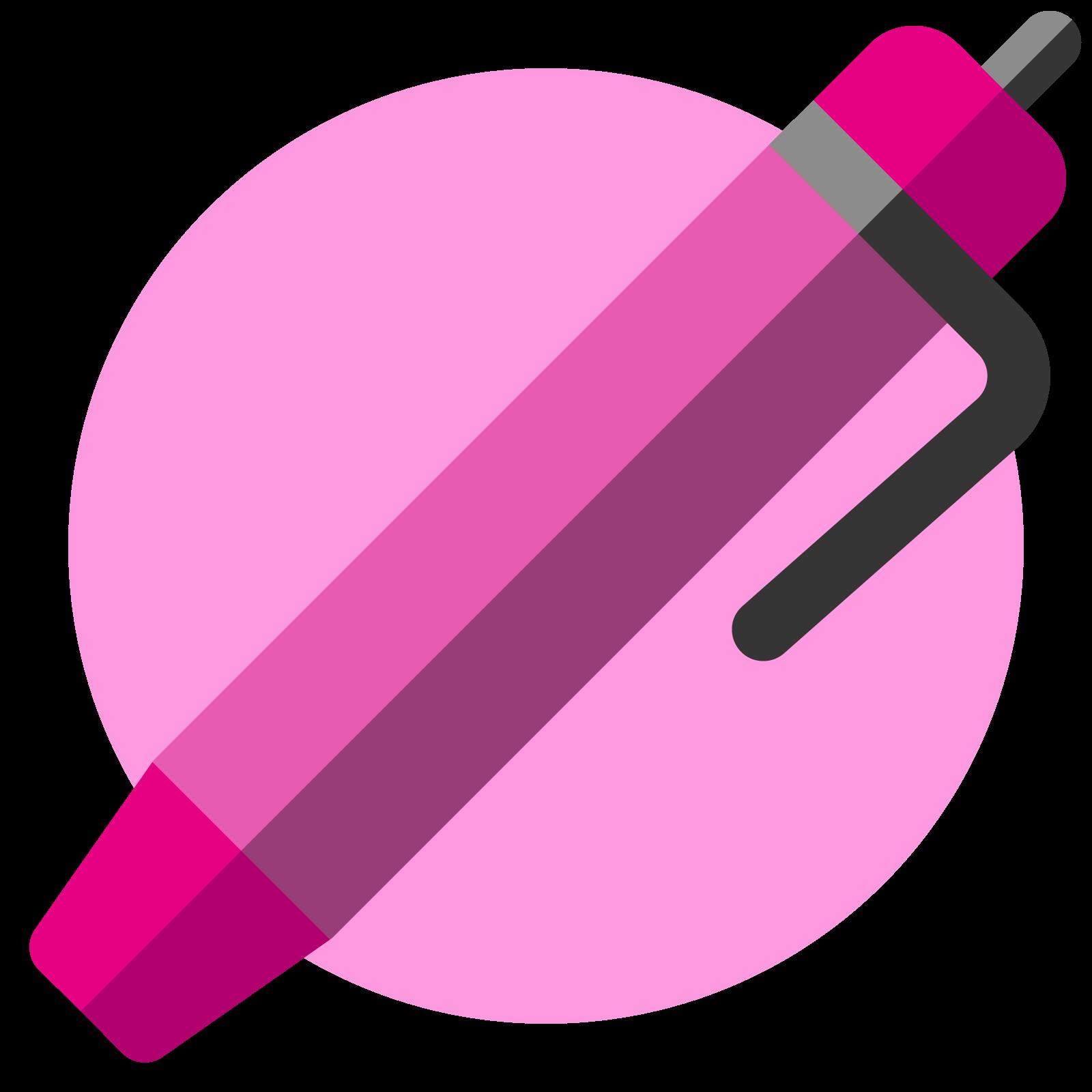Icon of a pen